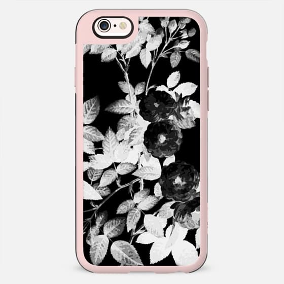 Black and white faded roses - New Standard Case