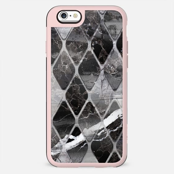 Monochrome marble tiles clear - New Standard Case