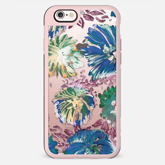 Transparent painted flower petals - New Standard Case