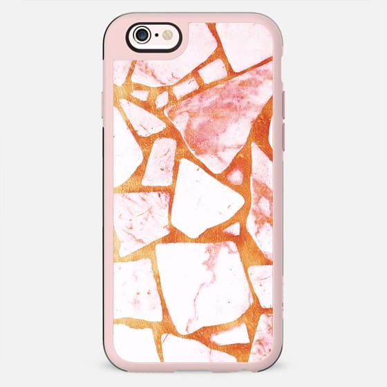 Gold and white stones - New Standard Case