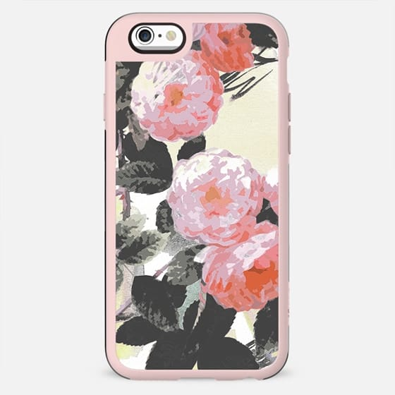 Watercolor romantic painted roses - New Standard Case