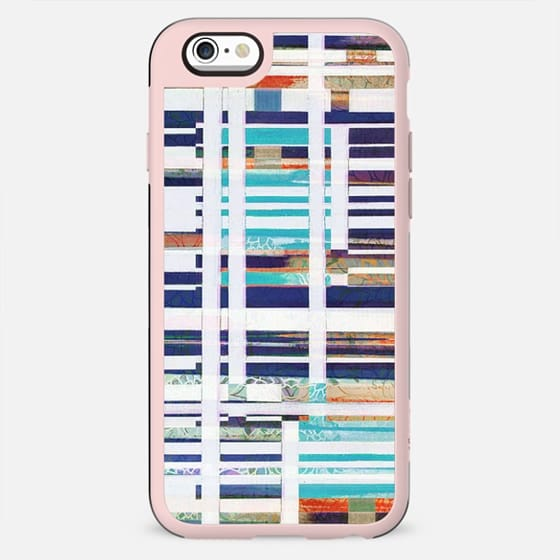 Nautical collage stripes - New Standard Case