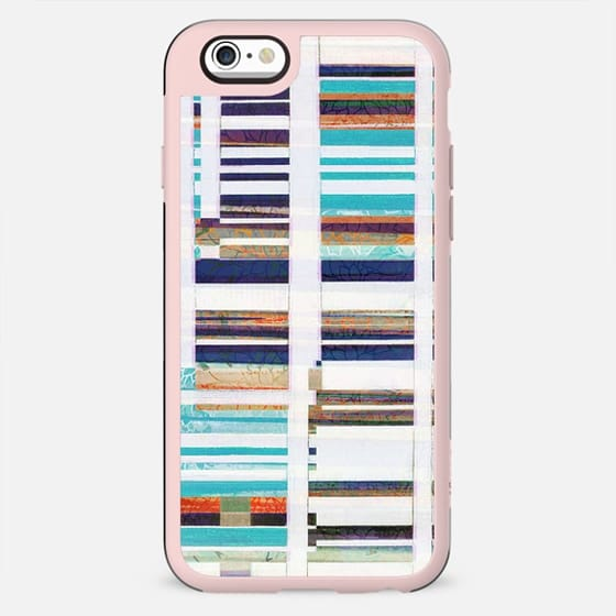Nautical stripes collage - New Standard Case