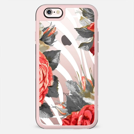 Rose petals and stripes - New Standard Case
