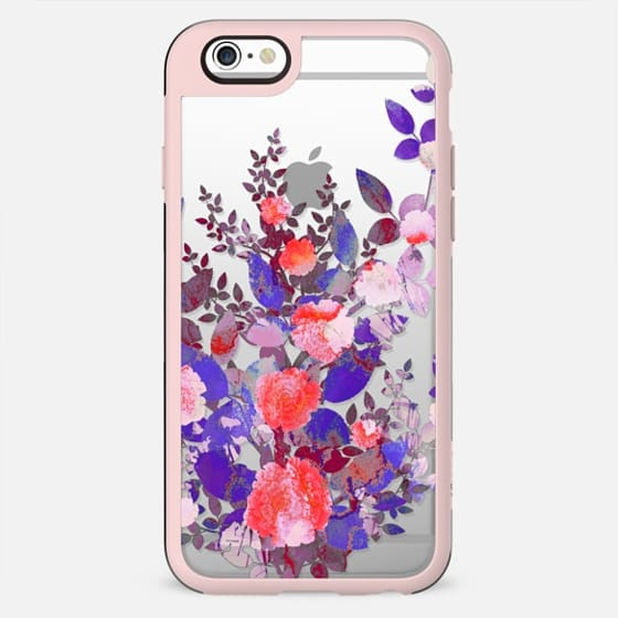 Watercolor Purple red roses - New Standard Case