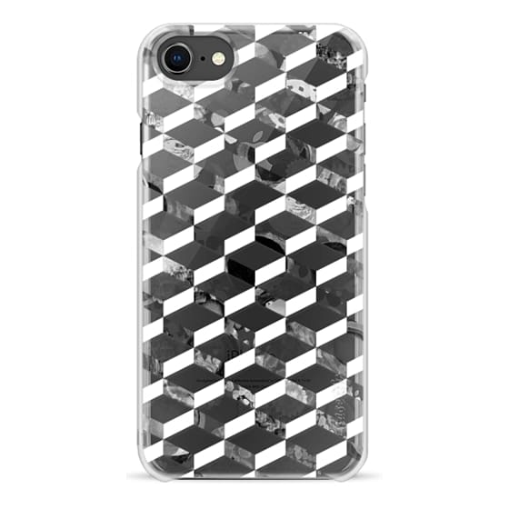 iPhone 6s Cases - Black and white 3d pattern