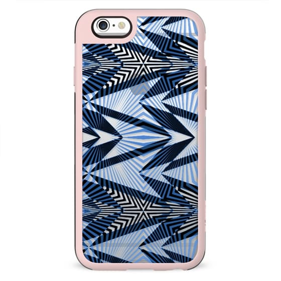 Ethnic stripes - clear case