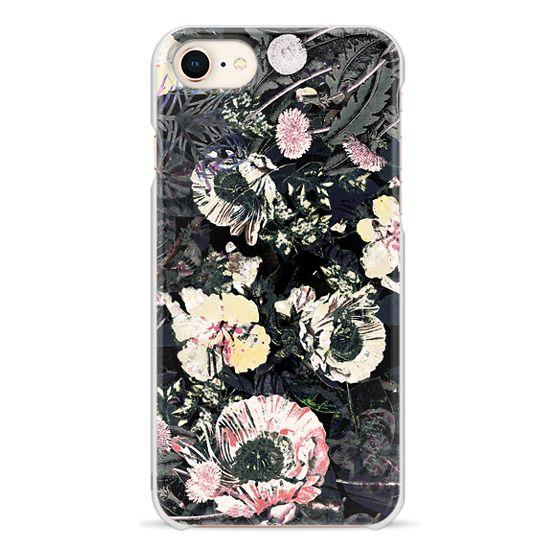 iPhone 7 Plus Cases - Night painted flower garden