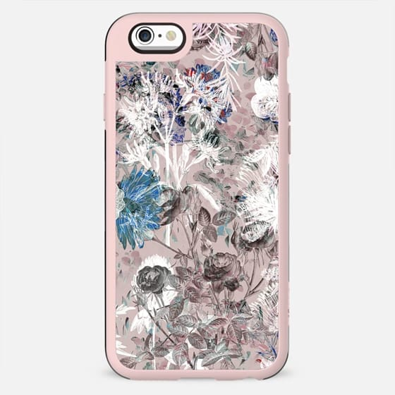 Pastel pink botanical painting II - New Standard Case