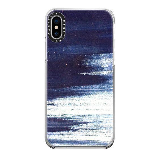 iPhone 6s Cases - Grunge blue paint texture