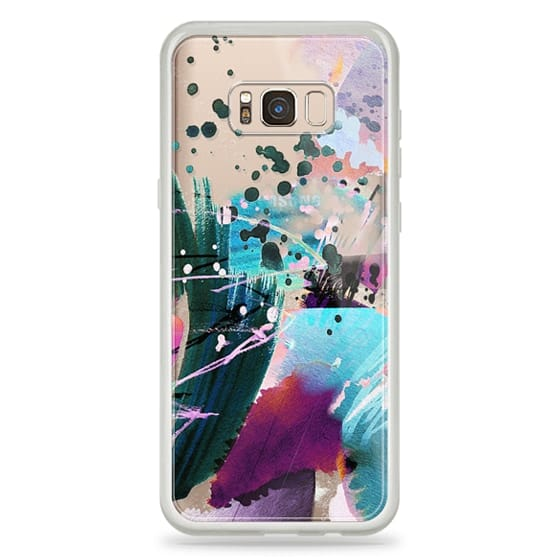 iPhone 6s Cases - Abstract colourful watercolor splatter