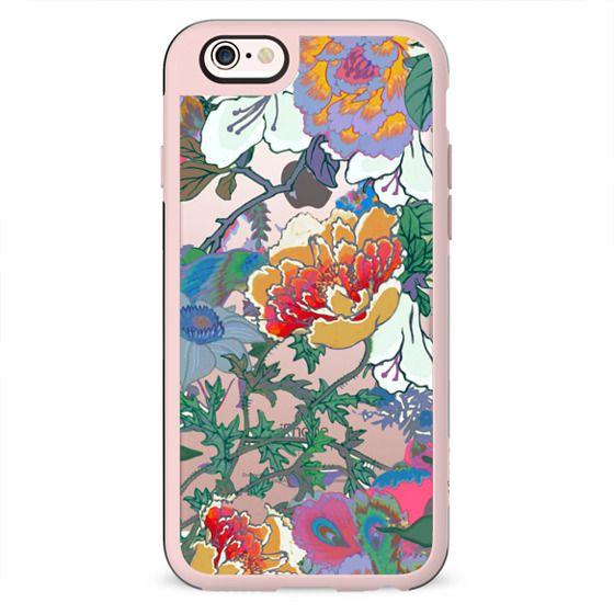 Foliage colourful illustration