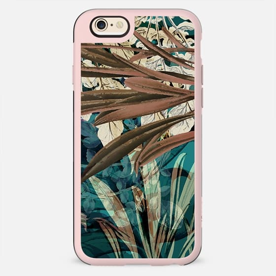 Botanical leaves illustration - New Standard Case