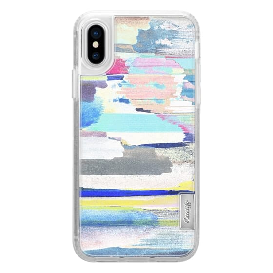 iPhone 6s Cases - Colourful brushed marker stripes