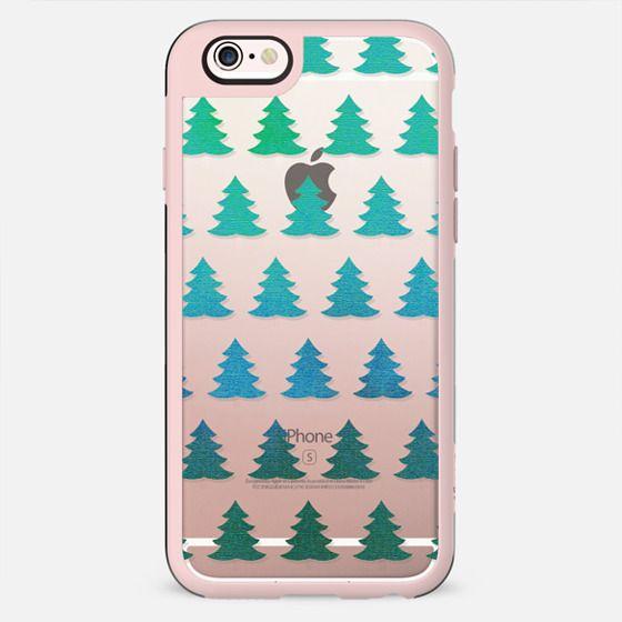 Sparkle turquoise pine trees