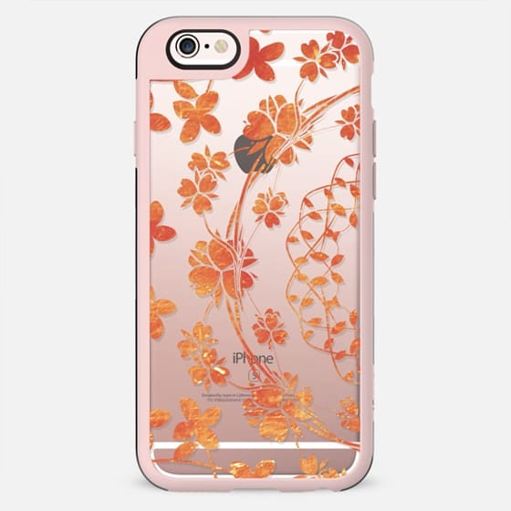 Golden floral lace - New Standard Case