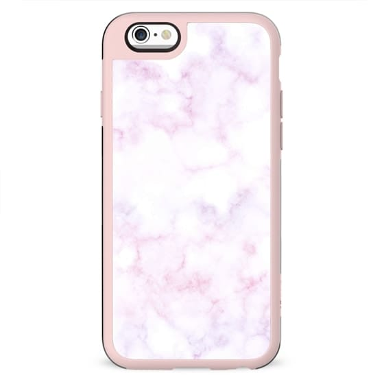 White pink soft marble