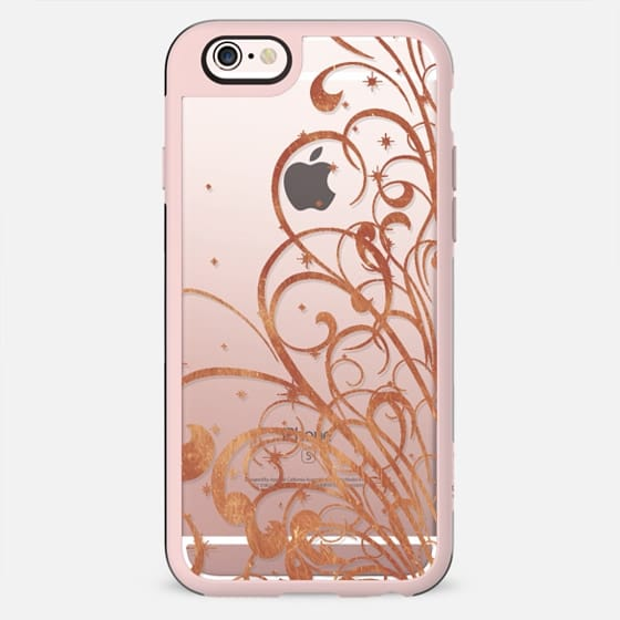 Magic gold swirls and stars - New Standard Case