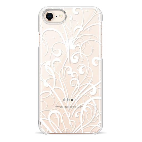 iPhone 6s Cases - White swirls