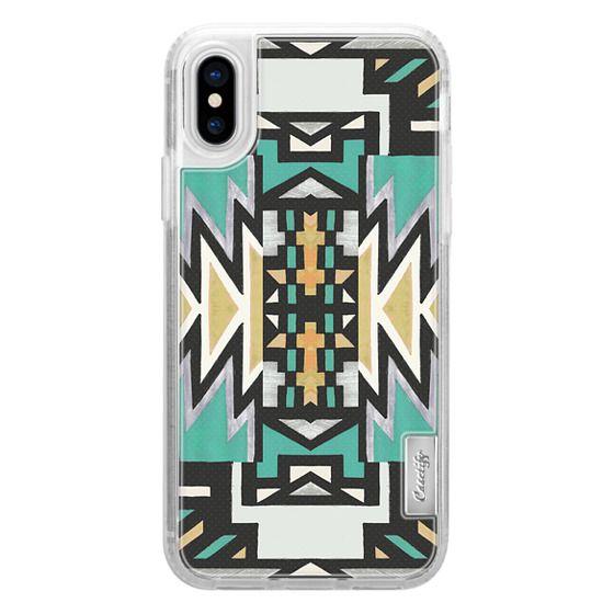 iPhone 7 Plus Cases - Ethnic colorful triangle print