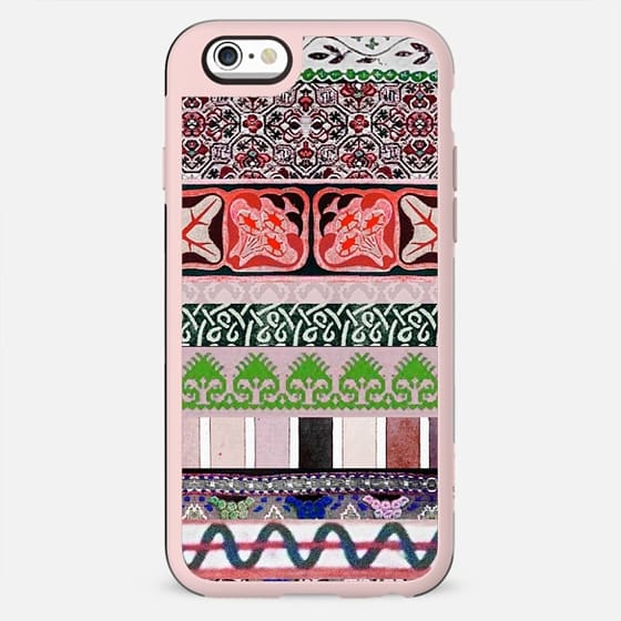 Colourful ethnic decoration stripes - New Standard Case
