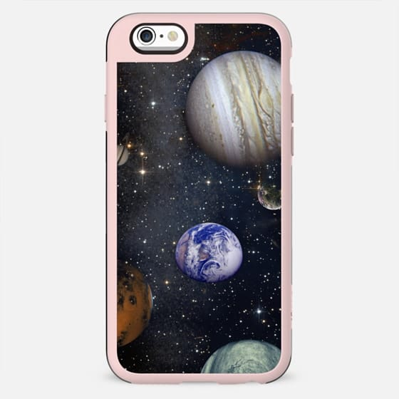 Planets and stars transparent Universe - New Standard Case