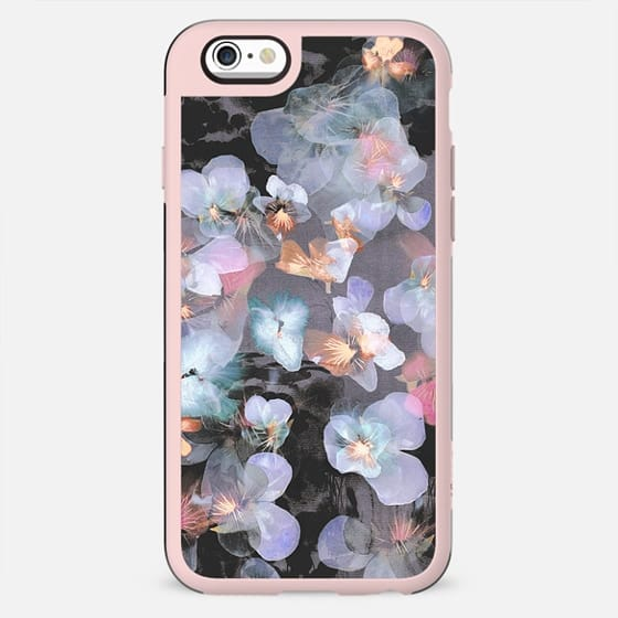 Dark delicate pansy petals - New Standard Case