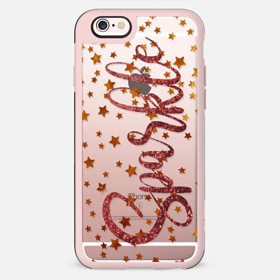 Sparkling stars clear case - New Standard Case