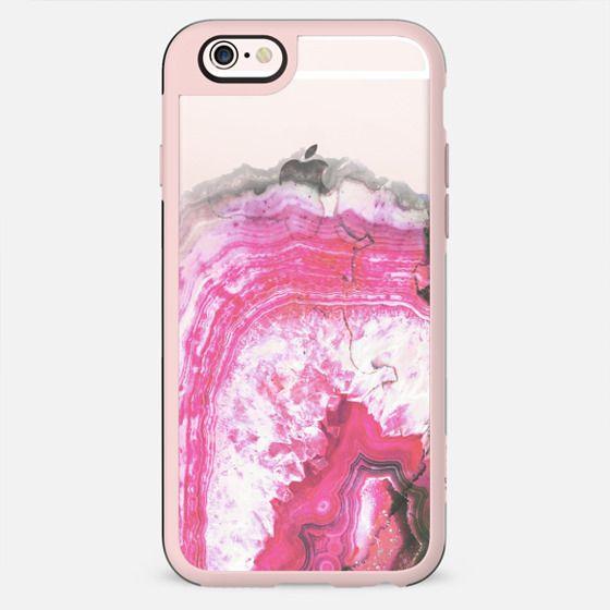 Pink precious gem marble - New Standard Case