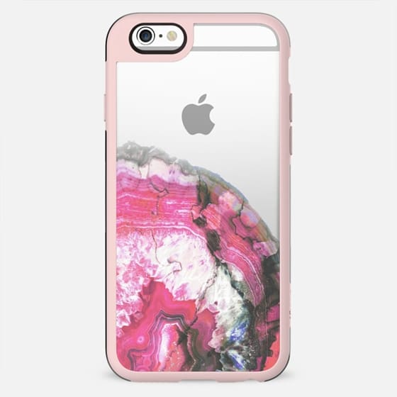 Pink precious gem clear