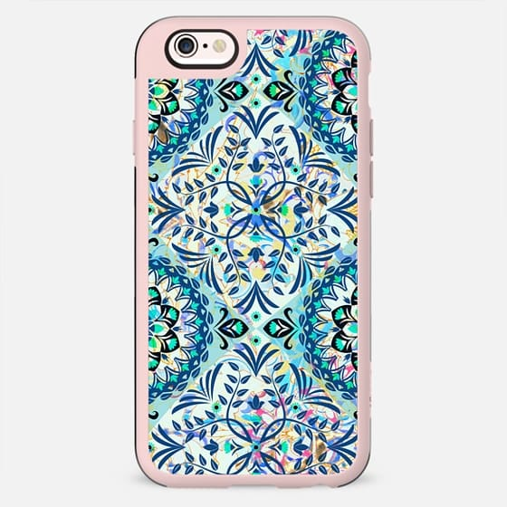 foliage delicate ornamental pattern - New Standard Case