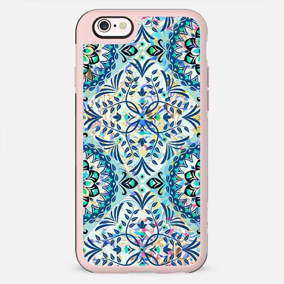 blue delicate ornamental pattern - New Standard Case