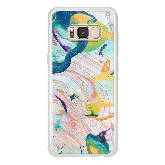 iPhone 7 Plus Cases - Colorful abstract marble painting