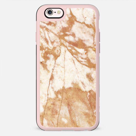 Light golden cracks marble III
