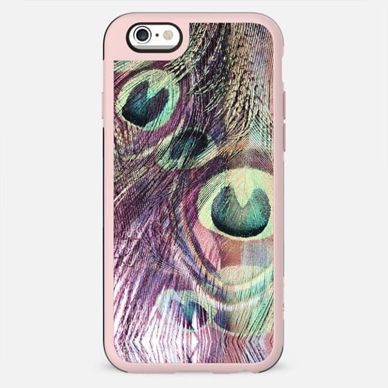 Peacock feathers pastel iridiscent - New Standard Case