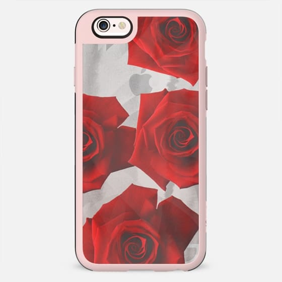 Transparent red roses - New Standard Case