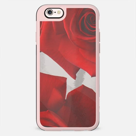 Red roses petals - New Standard Case