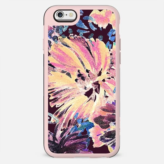 Colorful painted flower - New Standard Case
