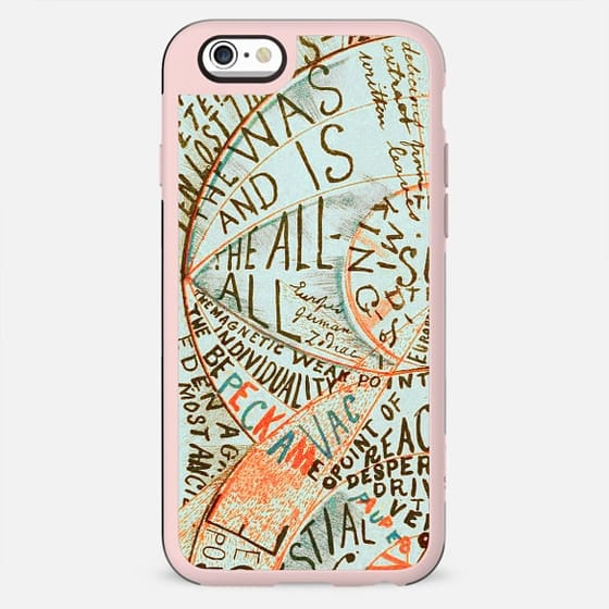 Old typography art drawing - New Standard Case