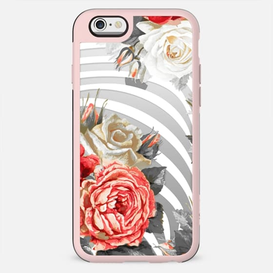 Red white roses and stripes - New Standard Case