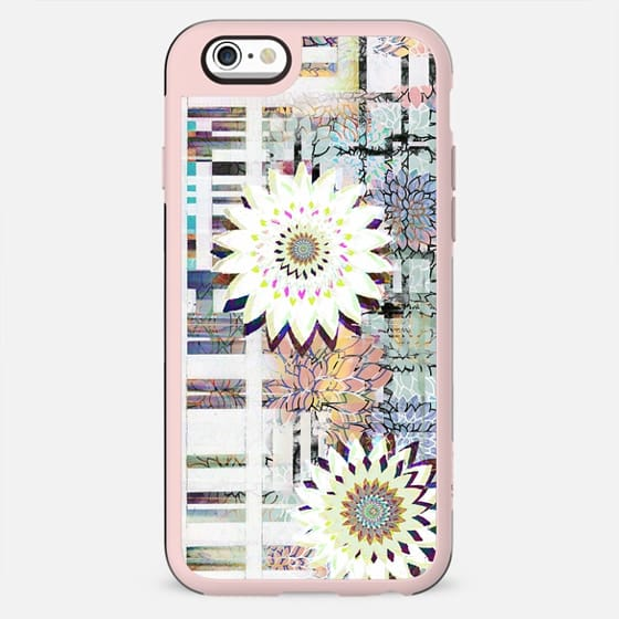 delicate pastel flowers and brushed tartan 2 - New Standard Case
