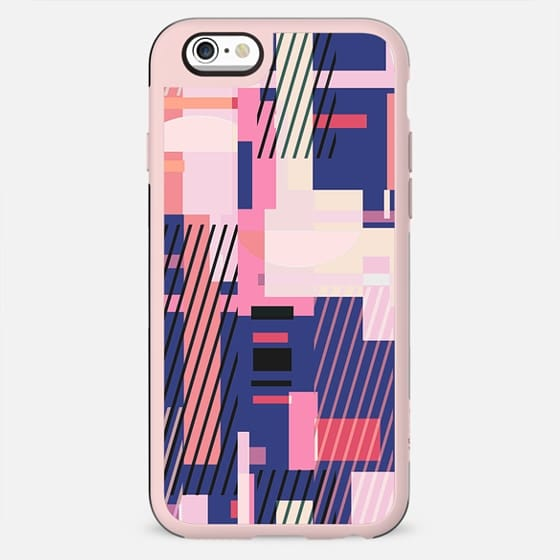 Colorful geometric playful composition - New Standard Case