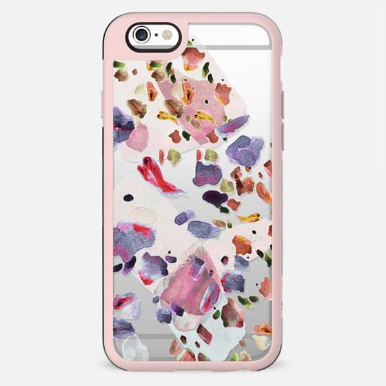 Pastel watercolor pebbles stone - New Standard Case