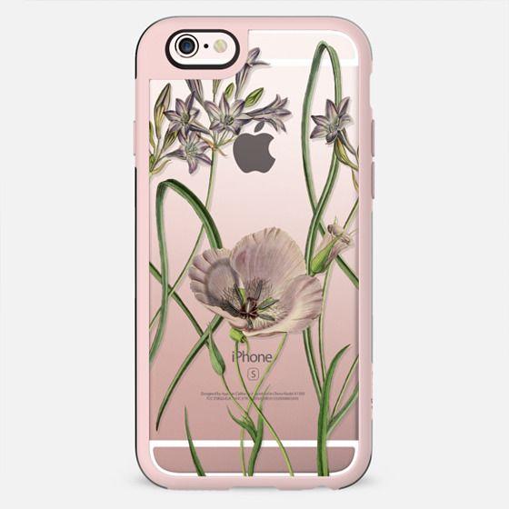 Elegant minimal botanical flowers - New Standard Case