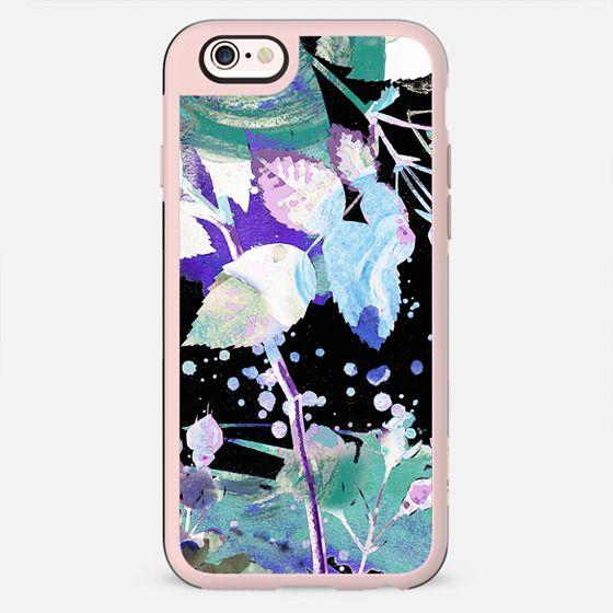 Painted stylised foliage