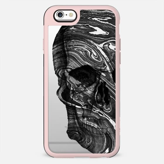 Dark marble skull - Halloween