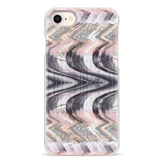 iPhone 6s Cases - Zig zag pastel painting