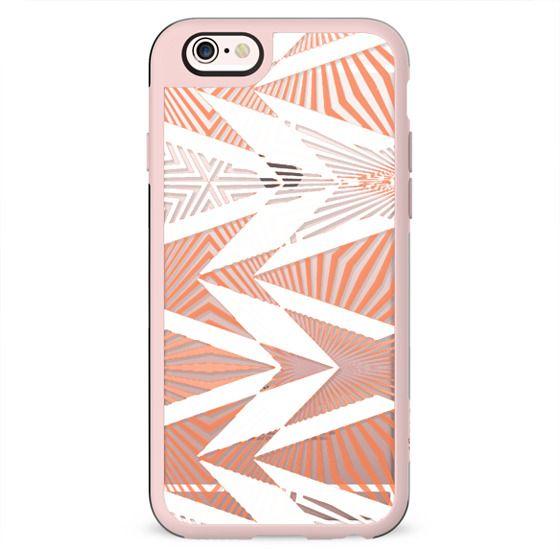 Funky bright stripes design