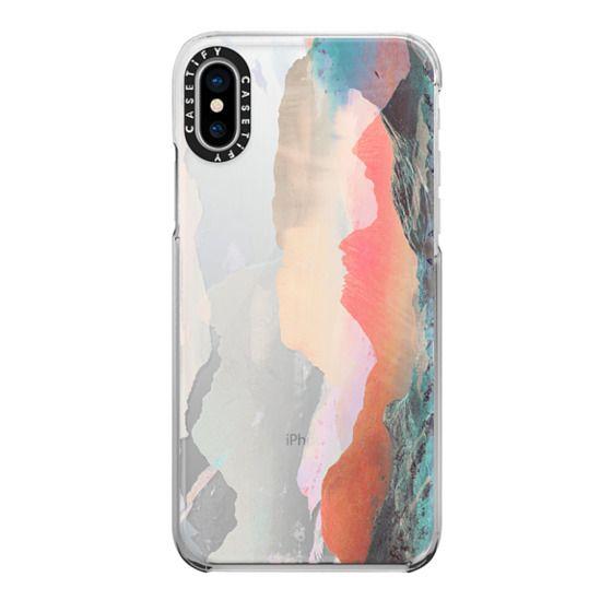 iPhone 6s Cases - Faded transparent landscape