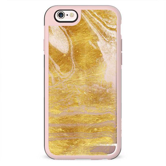 Golden marble textured lines